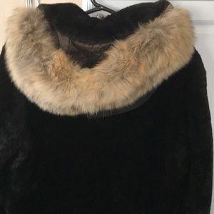 Jackets & Blazers - Vintage seal fur coat.